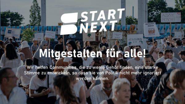 Mitgestalten für alle! Titelbild Crowdfunding