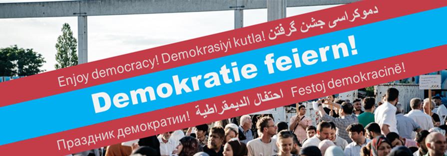 Auftakt-Aktion der Berliner Bürgerplattformen zum Wahljahr 2021 am 03.06.