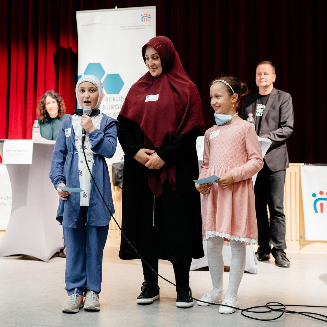 Kinder sprechen über ihr Thema BBP Wahlaktion 2021